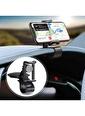 Techmaster Ayarlanabilir Kontrol Paneli Araç Göğsü Telefon Tutucu 4-6.5inç Renkli